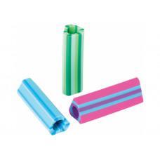 Гумка Cool for School грип для олівця трикутна Stripy, кольори асорті 1/30