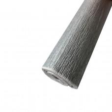 Гофро папір   металл. срібний 20%  50г/м2  (50см*200см)