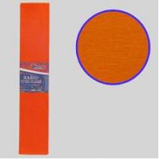 Гофро папір   флуоресц. темно-помаранч 20%  (50см*200см)