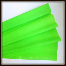 Гофро папір   перлам. салатов 20%  (50см*200см)
