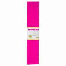 Гофро папір маджента 55%  26,4г/м2  (50см*200см)