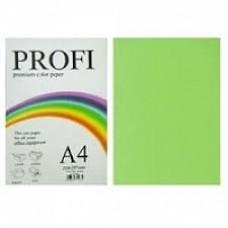 PROFI color папір офіс  A4 75г/м 500арк неон зелен Cyber Green