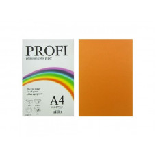PROFI color папір офіс  A4 75г/м 500арк неон оранж Cyber Orange