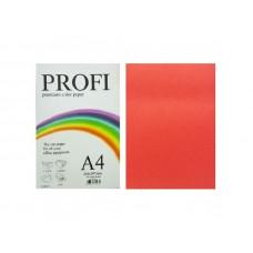 PROFI color папір офіс  A4 160г/м 250арк насич.червоний Deep Red
