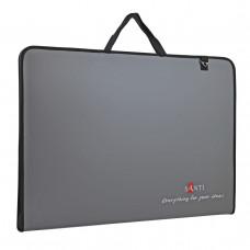 """Папка-портфель SANTI для ескизів А3, """"Grey"""", (367х30х495мм)"""