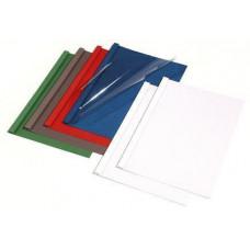 Обложки пласт.д/термопереплета Prestige 4мм,синие,толщ.33-43л.А4