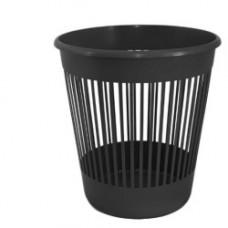 Урна для сміття, пласт., 8л. чорна