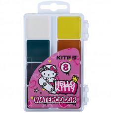 Акварель Kite Hello Kitty  8кол б/п