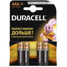 Батарейки LR03 Duraсell блист