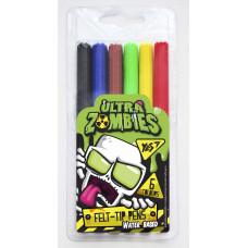 """Фломастери  YES 6 кольорів """"Zombie"""""""