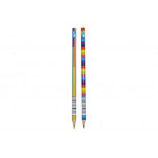 """Олівець з чотирикольоровим гріфелем  """"Rainbow"""", трикутний"""
