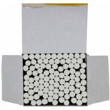 Крейда біла 100 шт кругла 1В