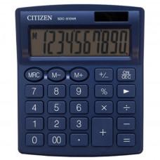 Калькулятор CITIZEN SDC-810NRNVE 102*124*25мм синій NAVY