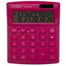 Калькулятор CITIZEN SDC-810NRPKE 102*124*25мм рожевий