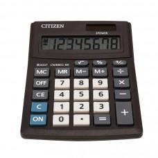 Калькулятор CITIZEN CMB- 801 BK 102*137*31мм 8разр малий формат