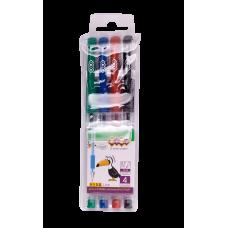 Набір ручок гелевих  ZB 4 кол.