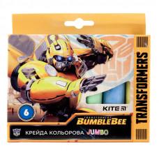 Крейда   6 кол Kite  Jumbo Transformers