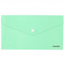 Конверт на кнопці Axent DL Pastelini, неом'ята