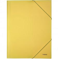 Папка на гумках Axent А4 Pastelini, жовта