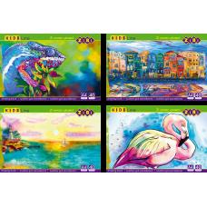 Альбом для малювання ZiBi Kids Line 40арк. 120г/м2 клеєний, лак