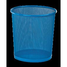 Кошик д/сміття офісн 28см метал, синій