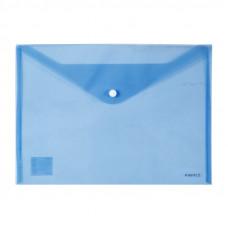Папка на кнопці Axent А4, синя