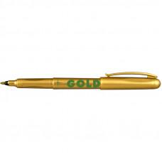 Маркер Centropen Gold&Silver 1мм золотий