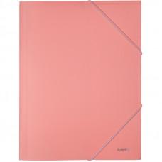 Папка на гумках Axent А4 Pastelini, рожева