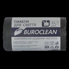 Пакет для сміття 35л (50 шт) BUROCLEAN