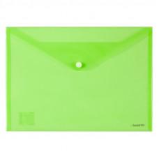 Папка на кнопці Axent А4, зелена