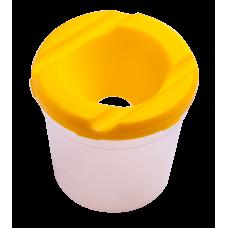 Стакан-непроливайка ZIBI жовтий