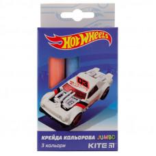 Крейда   3 кол Kite  Jumbo Hot Wheels