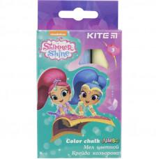 Крейда   3 кол Kite  Jumbo Shimmer&Shine