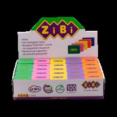 Гумка Zibi KIDS Line DRIVE прямокутна мікс кольори неон 26х18х8мм