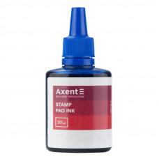 Фарба штемпельна AXENT синя 30мл