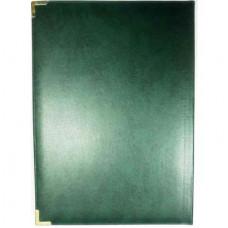 """Папка """"Вітаємо"""" Miradur зелена ф.230*320 тиснення  ППВ-5"""